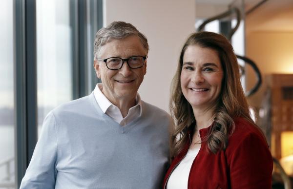 Ο Bill και η Melinda Gates / Πηγή: AP
