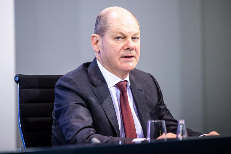 Ο ομοσπονδιακός υπουργός Οικονομικών και αντικαγκελάριος Όλαφ Σολτς/ Πηγή: ΑΠΕ-ΜΠΕ