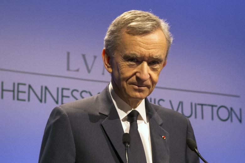 Ο πρόεδρος της LVMH Moet Hennessy Louis Vuitton SE Μπερνάρ Αρνό / Πηγή: AP Images